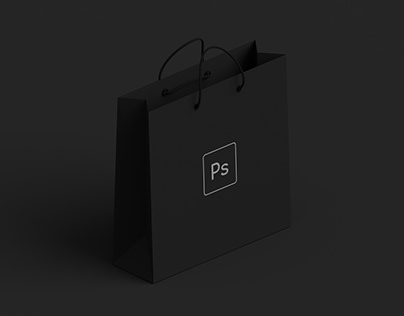 Dark - Shopping Bag Mockup