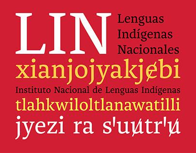 LIN | Diseño de tipografía
