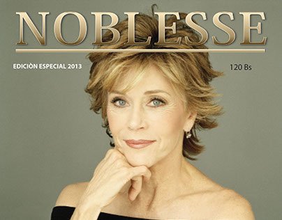 Noblesse   Editorial design