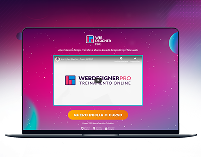 Site do Curso Web Designer PRO - 2019