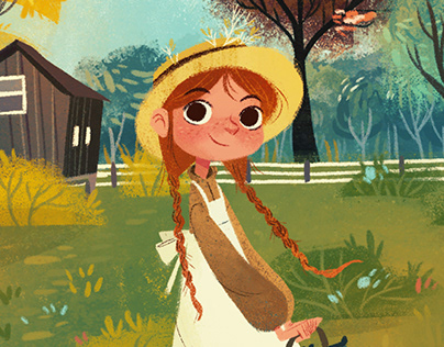 Anne of Green Gables (Book Cover Collection)