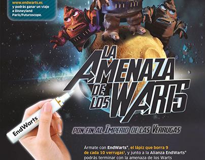 LA AMENAZA DE LOS WARTS. Campaña farmacias