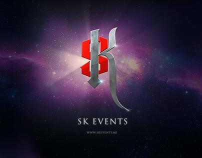 SK EVENTS - Branding