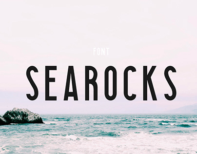 SEAROCKS - FREE CLEAN CONDENSED FONT