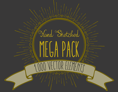 Ultimate Hand Sketched Vector Pack