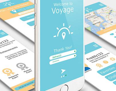 Voyage: Mobile App Design