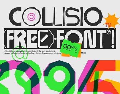Collisio (FREE) Font®!