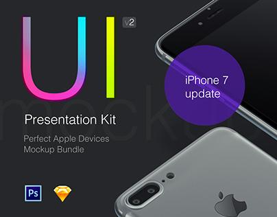 UI Presentation Kit, Devices Mockups + Freebie