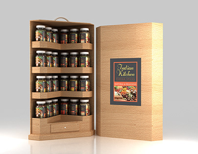 Indian Kitchen - Indian Spices - Packaging