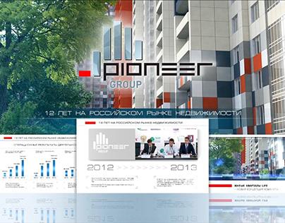 Pioneer interactive presentation