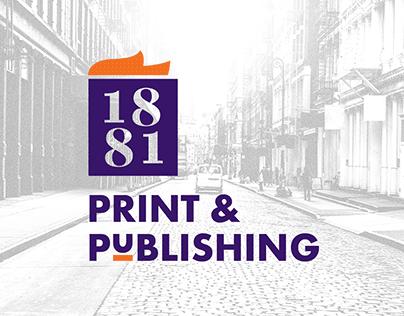 1881 Print & Publishing