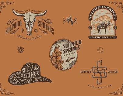 Sulphur Springs Branding
