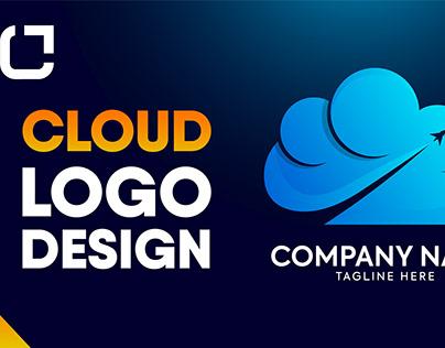 Cloud minimal logo design - How to Design cloud logo