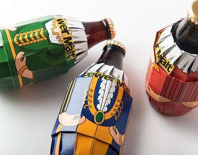 黑麥汁包裝 Malt Beverage -packaging design