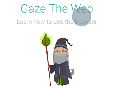 Gaze The Web training app