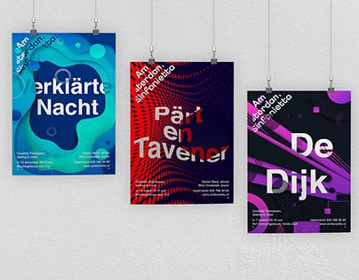 Amsterdam Sinfonietta concept / Posters 2021