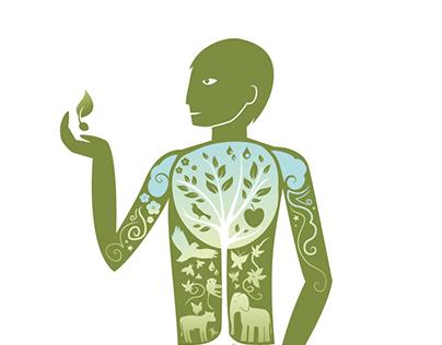 Illustration against GMO