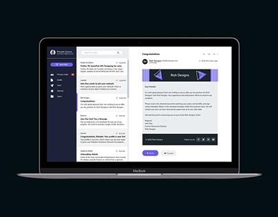 Email Dashboard UI Design Concept | Rish Designs