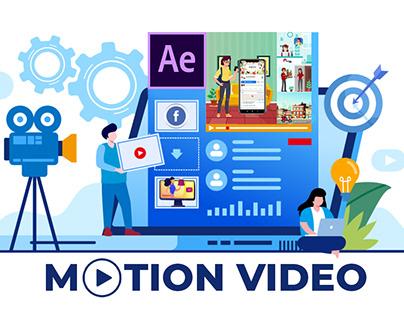 Motion Video For Social Media ADs
