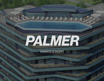 PALMER — Website concept