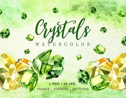 Crystal PNG set