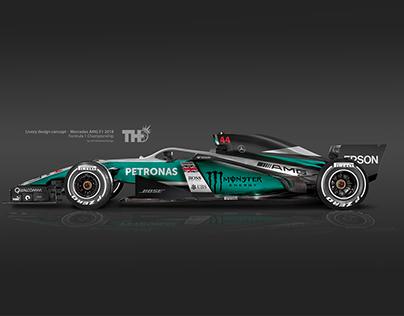 2018 F1 Concept Liveries