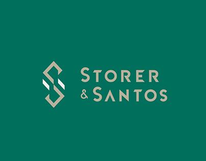 Storer & Santos | Identidade Visual