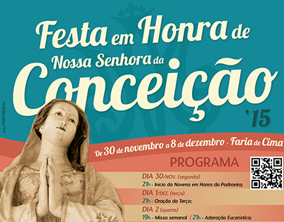 """Festa NSC 2015"" - Poster Re-Design"