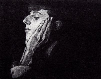 Beardsley, etching mezzo tinto
