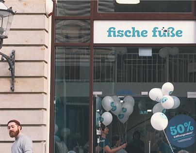 Fische Füße – Eröffnungskampagne