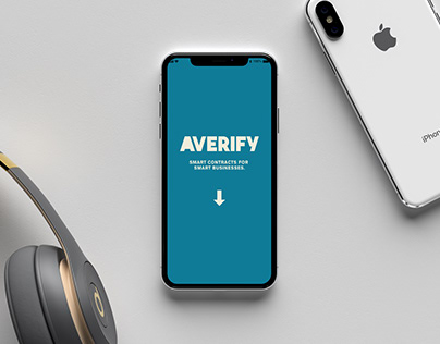 AVERIFY — Smart Contracts For Smart Businesses.