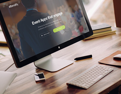 Attendify Conference landing template