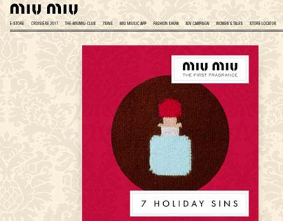 Miu Miu 7 sins of Christmas: WRATH