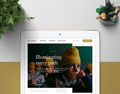 SikhRI – Brand Identity & Web Experience