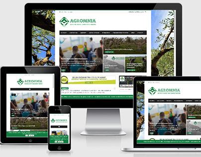 Sito Web Agromnia Consulting