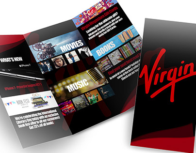 Virgin Megastore Brochure