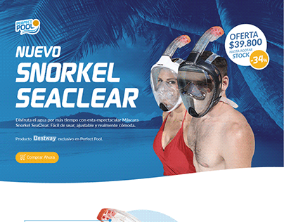 Snorkel Seaclear Landing / Perfect Pool