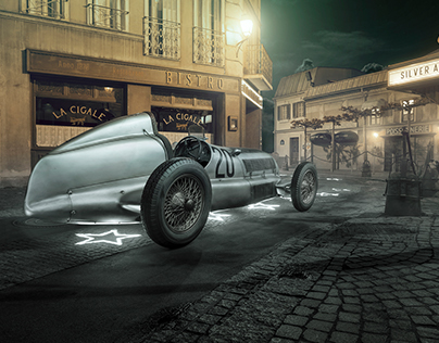 1934 Mercedes-Benz W25 Silver Arrow