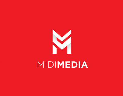 MidiMedia Logo Design