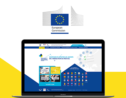 Webdesign for the European Temporary Work Campaign