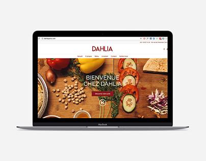 Site web Dahlia Paris