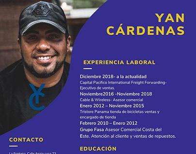 Cv Yan Cárdenas