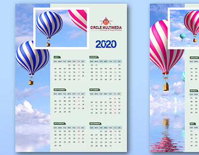 Wall Calendar 2020 Design