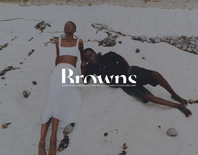 Browns Fashion | Redesign
