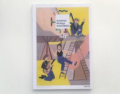 Kaunas pilnas kultūros cover