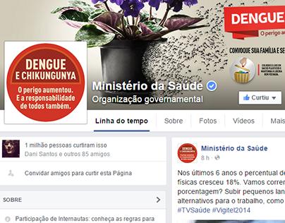Oito Digital | Social Media: Ministério da Saúde