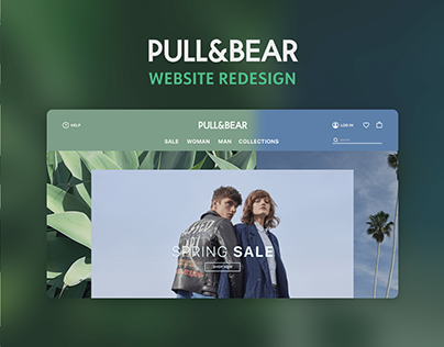 PULL&BEAR | Usability Testing & Website Redesign