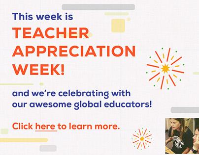 Teacher Appreciation Week - Social Media Posts