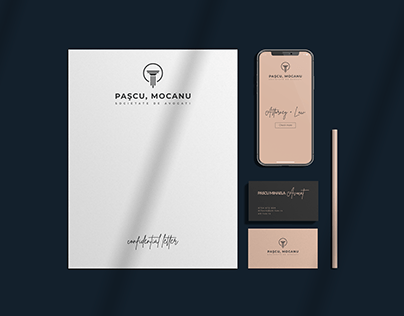 Pascu, Mocanu Complete Branding Package #3