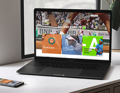 We Are Tennis by BNP Paribas Part II - WEBSITE